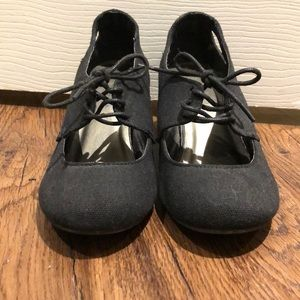 Shoes - Call It Spring lace up wedges, size 6